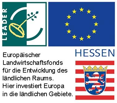 Europäischer Landwirtschaftsfonds für die Entwicklung des ländlichen Raums, Hessisches Ministerium für Wirtschaft, Verkehr und Landesentwicklung.